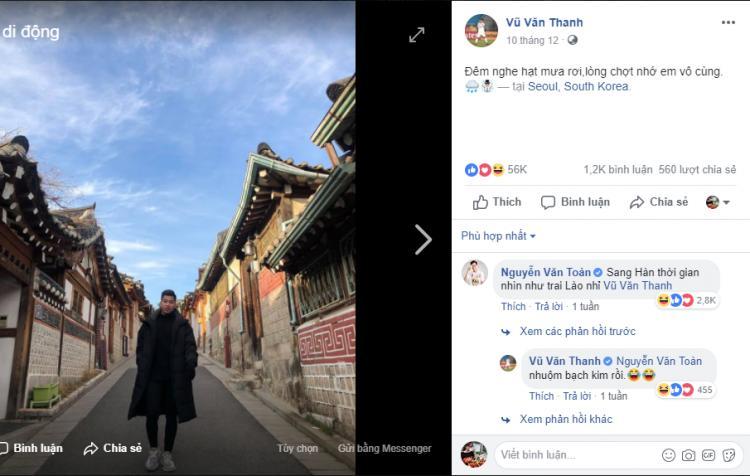 Đăng ảnh thả thính tại Hàn Quốc, Văn Thanh khiến Văn Toàn nhầm là người Lào còn phản ứng của Duy Mạnh mới thật sự không tưởng-2