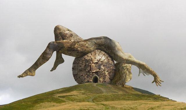 Bức tượng người phụ nữ khỏa thân và bí mật xung quanh thung lũng tình yêu-1