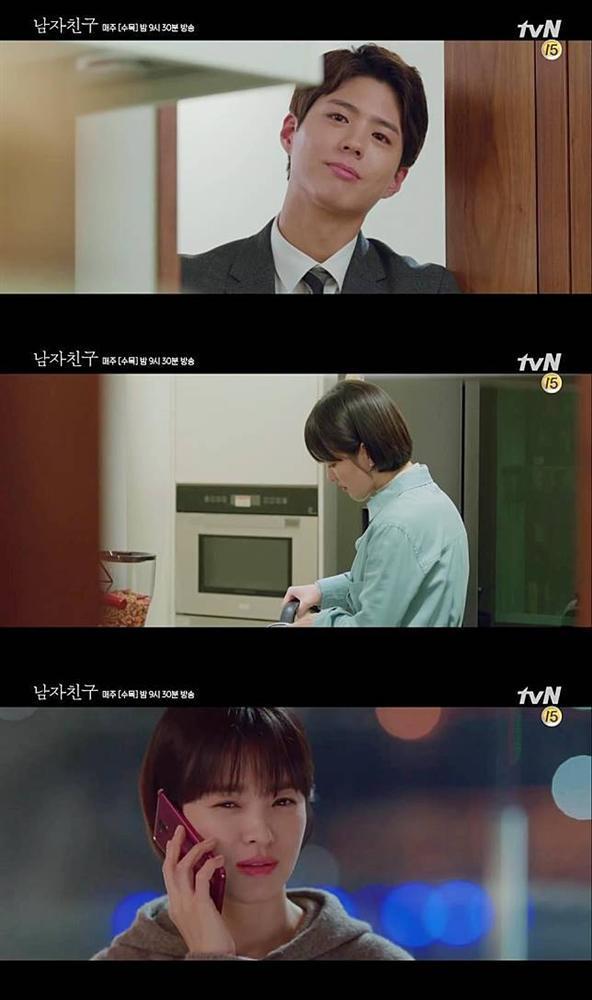 Nụ hôn đầu của Song Hye Kyo và Park Bo Gum giúp rating Encounter tăng trở lại-1