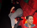 Chưa kịp xem phim đã ngủ khò, Trấn Thành bị bà xã tung ảnh 'giường ghế' bóc phốt chồng