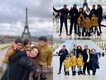 Hồ Ngọc Hà đưa gia đình xuất ngoại tới quê hương người tình Kim Lý đón Noel