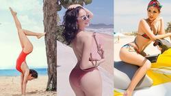 Top 8 mỹ nhân Việt có vòng ba 1m nóng bỏng, xếp đầu là Angela Phương Trinh rồi đến…