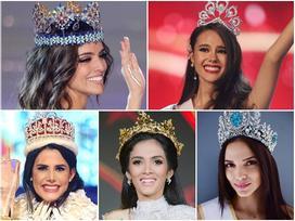5 nữ hoàng sắc đẹp thế giới 2018: Không ai đủ sức 'hạ gục' dung mạo khuynh thành của Miss World