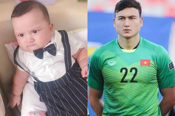 Bé trai 5 tháng tuổi chiếm spotlight vì bị lầm tưởng là con rơi của thủ môn Đặng Văn Lâm-2