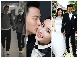 Trước khi ly hôn, Dương Mịch - Lưu Khải Uy từng diện đồ đôi 'tình bể bình'