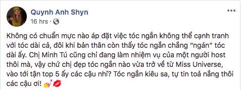 Mượn hình ảnh hoa hậu tóc tém HHen Niê, dàn mỹ nhân công khai bảo vệ Minh Tú khi ngồi ghế nóng-7