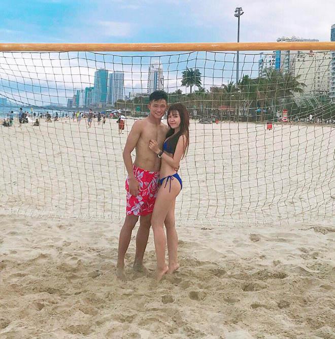 BẤT NGỜ KHÔNG: Trước khi yêu Lâm Tây, bạn gái hiện tại của anh chàng từng hẹn hò một thủ môn kém 6 tuổi-4