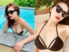 Phô diễn hình thể với bikini, Hoa hậu Kỳ Duyên để lộ vòng 1 teo tóp không nóng bỏng như trước