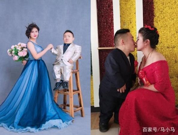 Đám cưới của cô dâu cao 1,6m và chú rể 90cm gây xôn xao mạng xã hội-3