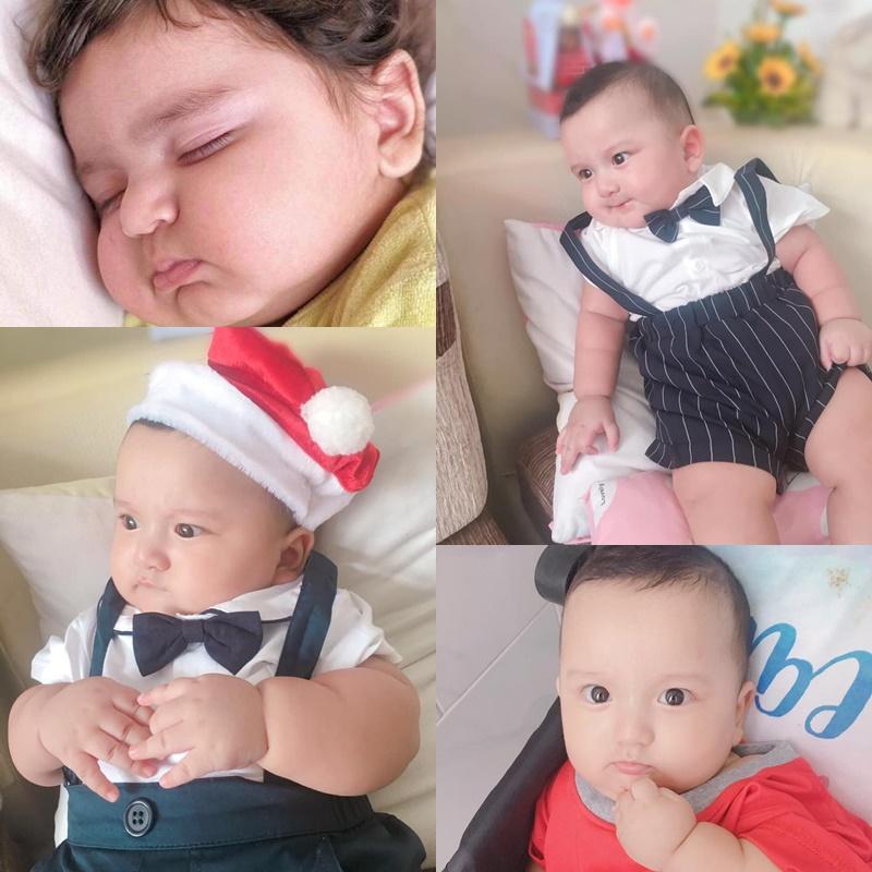 Ngoại hình quyến rũ của single mom có con trai 5 tháng tuổi được mệnh danh là Lâm Tây phiên bản nhí-1