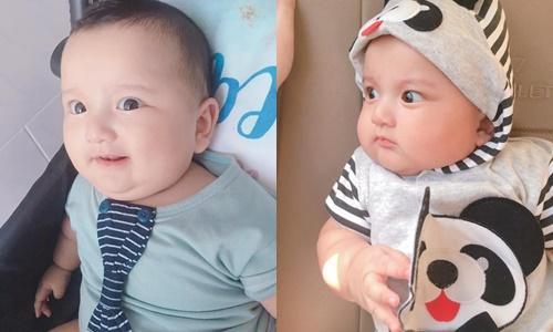 Ngoại hình quyến rũ của single mom có con trai 5 tháng tuổi được mệnh danh là Lâm Tây phiên bản nhí-3