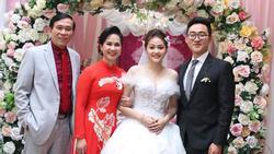Con trai của bà 'mẹ chồng khó tính' Lan Hương lấy vợ, nhan sắc cô dâu không phải dạng vừa
