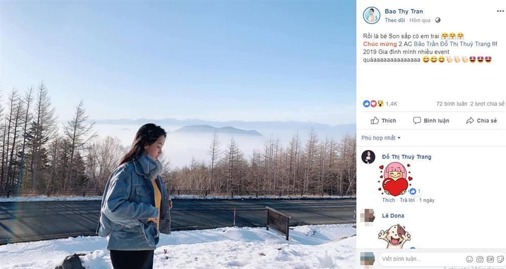 Vừa nhận tin bà xã mang thai lần 2 trên đất Nhật Bản, anh trai ca sĩ Bảo Thy đã tiết lộ cả tên thật và giới tính của con-4