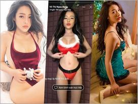TÌNH MỚI - TÌNH CŨ ĐỐI ĐẦU: Yaya Trương Nhi và Ngân 98 đọ độ sexy trong bộ ảnh nội y dịp Giáng Sinh