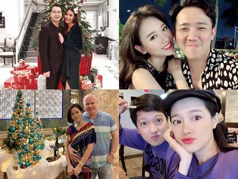 Sao Việt: Người có đôi có cặp, kẻ lại đơn lẻ đón Giáng sinh