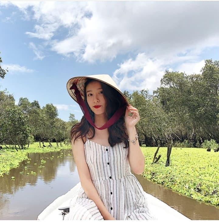 Khám phá rừng tràm xanh biếc ở An Giang đẹp như tiên cảnh đang được giới trẻ săn lùng-1
