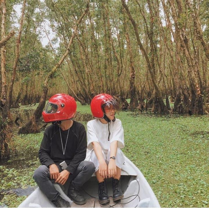 Khám phá rừng tràm xanh biếc ở An Giang đẹp như tiên cảnh đang được giới trẻ săn lùng-2
