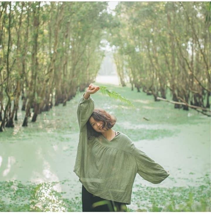 Khám phá rừng tràm xanh biếc ở An Giang đẹp như tiên cảnh đang được giới trẻ săn lùng-3