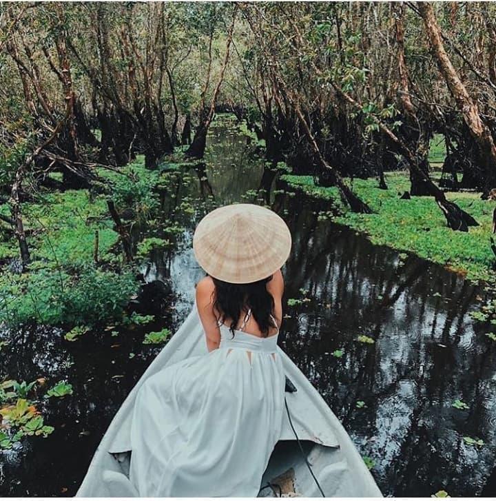 Khám phá rừng tràm xanh biếc ở An Giang đẹp như tiên cảnh đang được giới trẻ săn lùng-6
