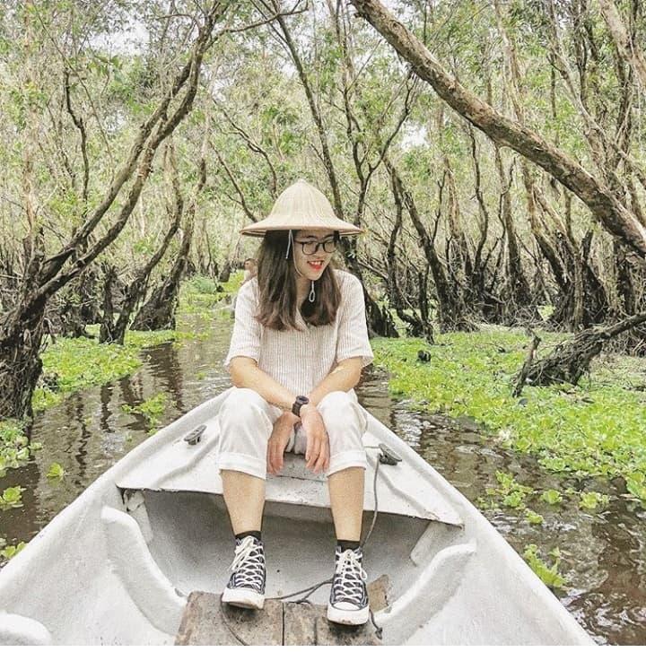 Khám phá rừng tràm xanh biếc ở An Giang đẹp như tiên cảnh đang được giới trẻ săn lùng-7