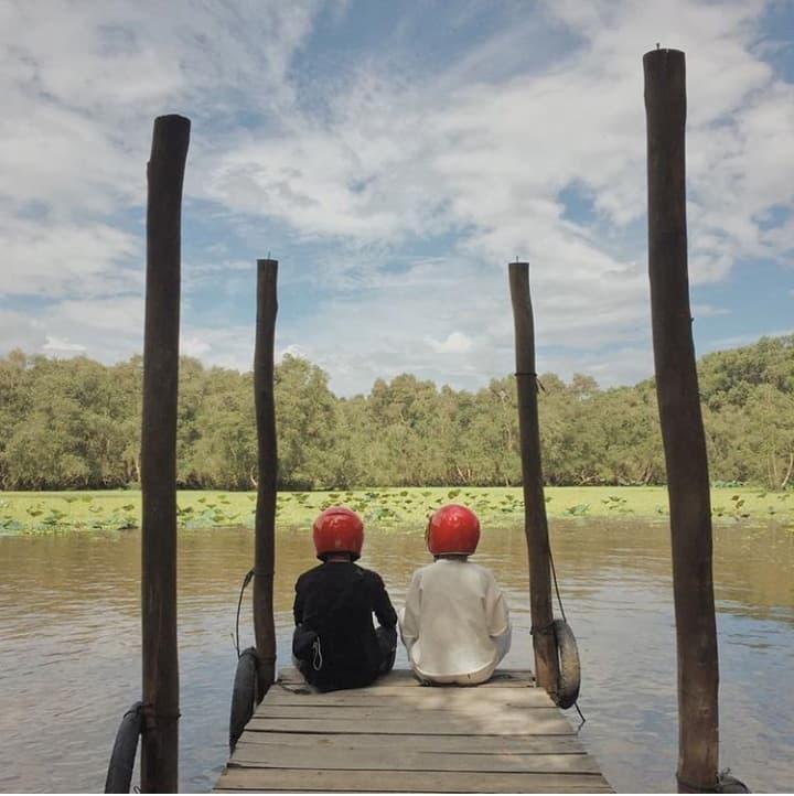 Khám phá rừng tràm xanh biếc ở An Giang đẹp như tiên cảnh đang được giới trẻ săn lùng-8