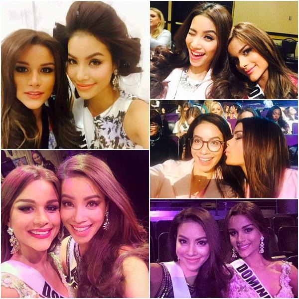 GIẬT MÌNH: Chỉ 3 năm sau Miss Universe 2015, bạn thân Hoa hậu Phạm Hương từ quý cô mỹ miều trở thành quý bà mỡ màng-3