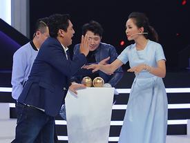 Trấn Thành hả hê khi chứng kiến vợ chồng Hoàng Bách và các khách mời cãi nhau kịch liệt