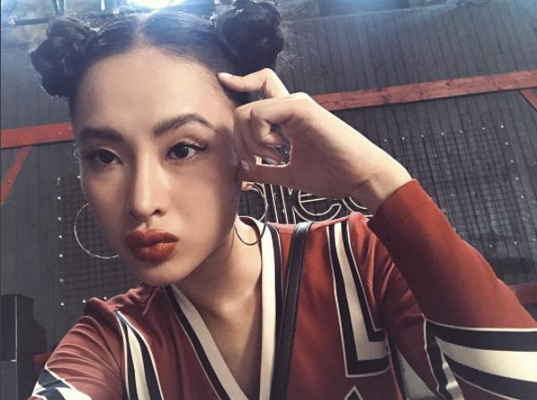 Loạt mỹ nhân Việt chẳng có họ hàng mà giống hệt chị em bởi đôi môi tều y chang từ một khuôn đúc-6