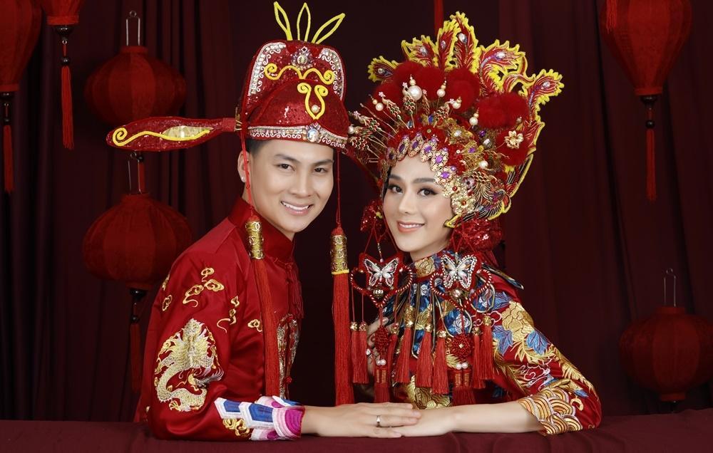 Đám cưới lỗ chổng vó, Lâm Khánh Chi vẫn chơi lớn mời 300 khách dự tiệc mừng 1 năm lấy chồng-3