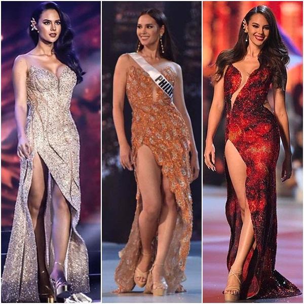 Chỉ mặc một loại đầm và catwalk đúng một kiểu, thế mà mỹ nhân Philippines vẫn xuất sắc lên ngôi Hoa hậu Hoàn vũ 2018-2