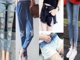 Cách để 'hô biến' quần bò, đồ jeans cũ trở nên cá tính và thú vị hơn chỉ sau vài phút