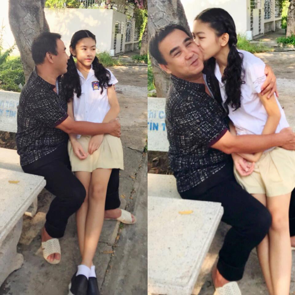 Mới 13 tuổi, con gái MC Quyền Linh được dự đoán sẽ trở thành Hoa hậu vì quá xinh đẹp-1