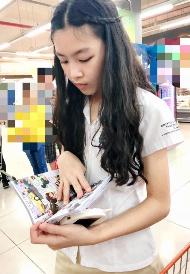 Mới 13 tuổi, con gái MC Quyền Linh được dự đoán sẽ trở thành Hoa hậu vì quá xinh đẹp-3