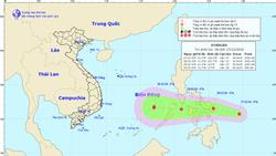 Áp thấp gần Biển Đông, khả năng mạnh lên thành bão