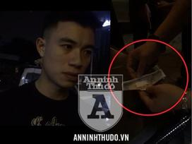 Bọc ma túy trong tờ tiền, nam sinh viên quanh co khi bị Cảnh sát 141 bắt giữ