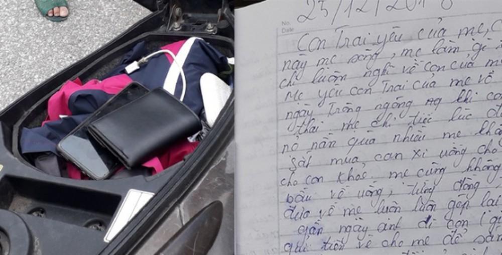 Hà Tĩnh: Người mẹ nhảy cầu để lại thư tuyệt mệnh dài 8 trang gửi con trai-1