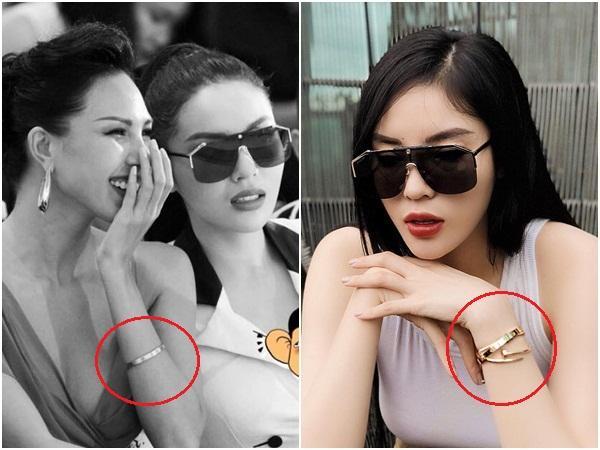 Hoa hậu Kỳ Duyên - người mẫu Minh Triệu bị phát hiện cùng đeo tín vật tình yêu chỉ các cặp tình nhân mới sử dụng-13