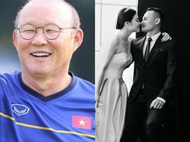 Chuyện giờ mới kể: HLV Park đắp mặt nạ cho Trọng Hoàng trước ngày cưới kèm lời dặn 'phải đẹp trai, trắng trẻo'
