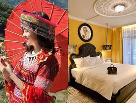 Khoe làm gái dân tộc, ở khách sạn hạng sang nhưng Ly Kute phiền muộn vì người quan trọng nhất cuộc đời không bên cạnh