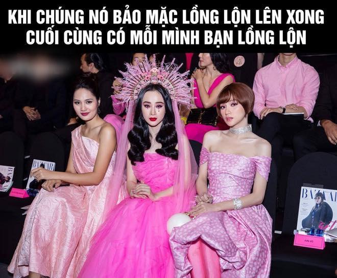 Angela Phương Trinh bị so sánh là bản fake của Lily Collins ở Met Gala 2018 và phản ứng thú vị của cộng đồng mạng-9