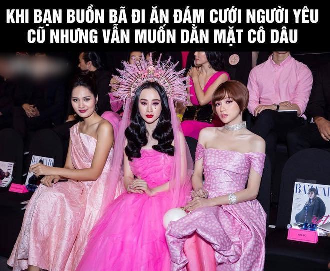 Angela Phương Trinh bị so sánh là bản fake của Lily Collins ở Met Gala 2018 và phản ứng thú vị của cộng đồng mạng-12