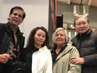 Sau cuộc gặp gỡ thông gia tại Thụy Điển, mẹ Hồ Ngọc Hà nhận xét về phụ huynh Kim Lý toàn lời mật ngọt
