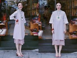 Hết hồn ngắm Angela Phương Trinh mặc váy ngắn tung tăng đón cái rét 9 độ của Hà Nội
