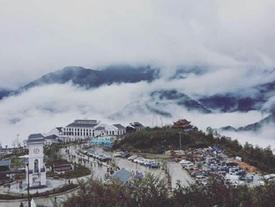 Ngắm Sa Pa mùa lạnh mờ ảo trong sương khói