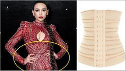 'Tội cho cô gái đó': Võ Hoàng Yến bị soi mặc corset gen bụng vì ham hố mặc đầm xuyên thấu