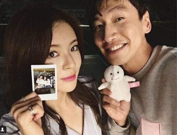 Cận cảnh nhan sắc xinh đẹp xứng đôi vừa lứa của bạn gái Lee Kwang Soo-1