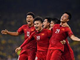 Đội tuyển Việt Nam gửi lời chúc mừng năm mới 2019 tới người hâm mộ