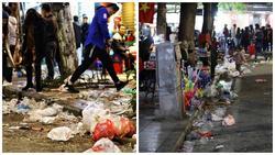 Hà Nội, Tp. Hồ Chí Minh ngập rác trong đêm giao thừa 2019