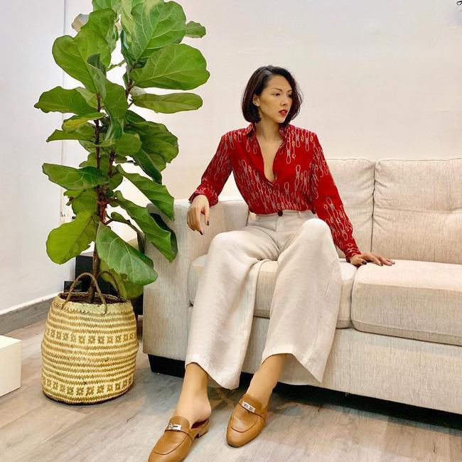 Tăng Thanh Hà, Hà Hồ, Kỳ Duyên cùng loạt mỹ nhân Việt khoe street style siêu chất dịp đầu năm 2019-7