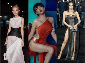 Những bộ váy áo 'mặc cũng như không' gây nhức mắt người nhìn nhất của các mỹ nhân Việt